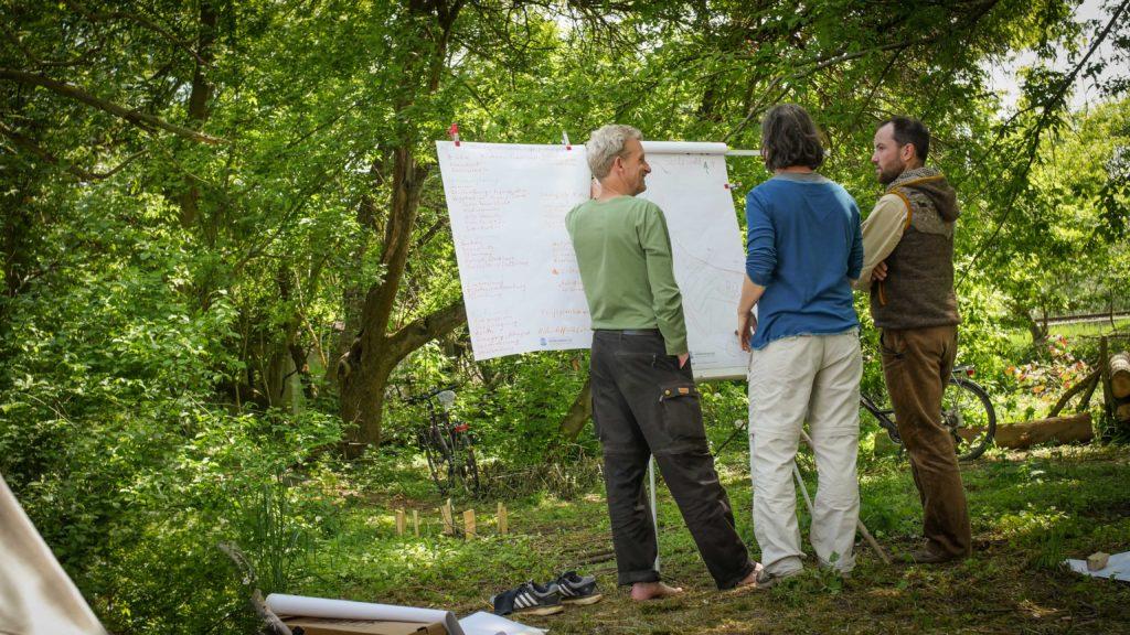 Waldgarten-Planung