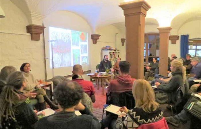 Walgartenvortrag Blick in die Zuhörerschaft